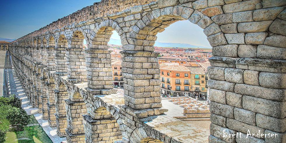 The Aqueduct of Segovia is a Roman aqueduct in Segovia, Spain.