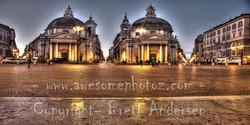 Rome - Piazza del Popolo - 2 - PANO-Web