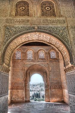 Granada  Alhambra De Granada Palace - 7 - WEB