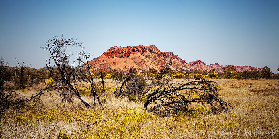 West MacDonnell Ranges, Alice Spring, NT, Australia.