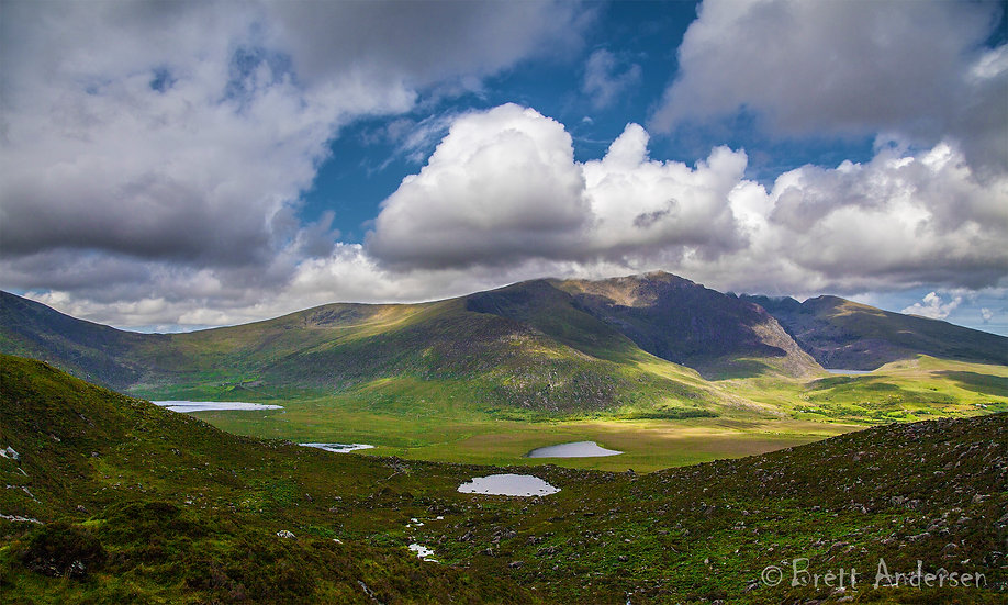 Conor Pass, County Kerry, Ireland.