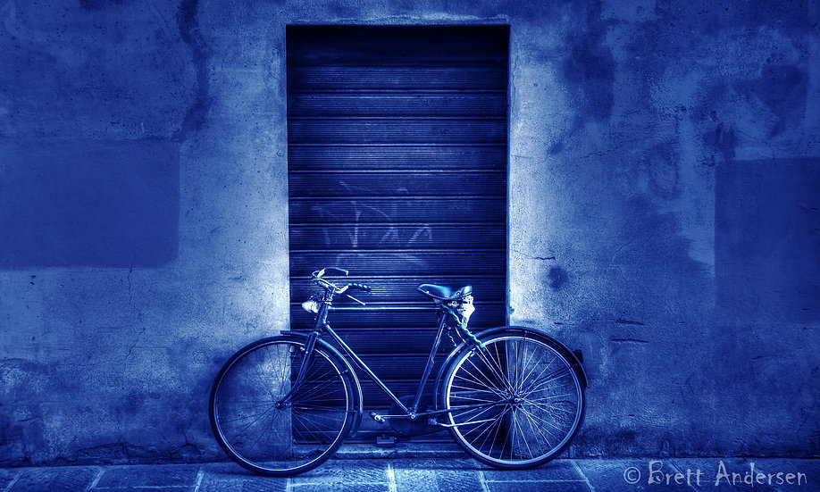 Resting Bike, Florence, Italy