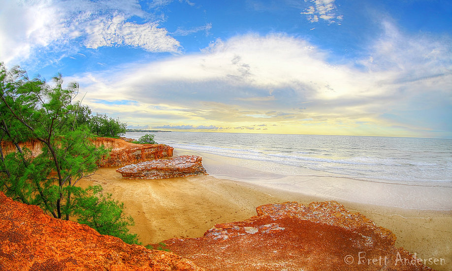 Dripstone Cliffs, Darwin, Northern Territory, Australia.
