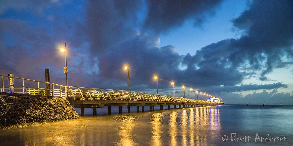 Shorncliffe Pier, Shorncliffe, Queensland, Australia