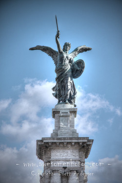Rome - Saint Michael Archangel Statue - 1 - WEB
