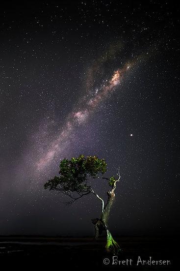 Milky way at Moolooaba, Qld