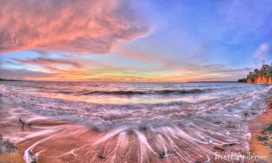 Sunset at Fannie Bay, Darwin, NT.