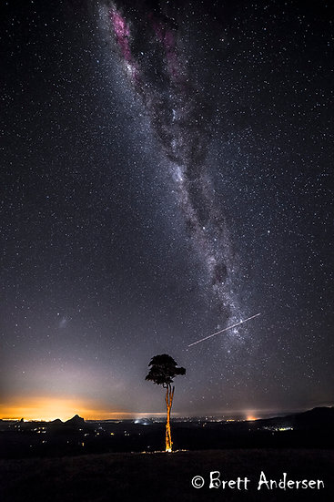 Milky way at Maleny, Qld