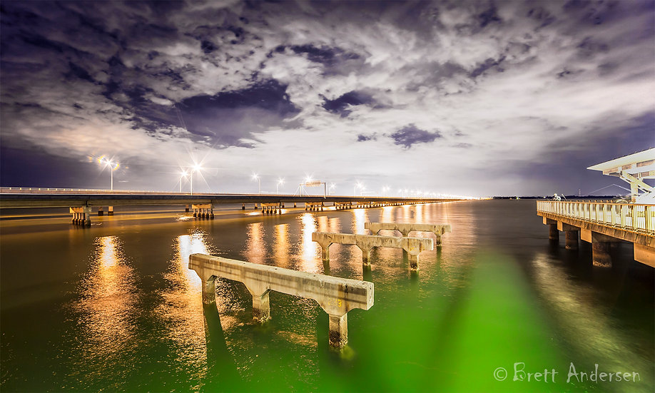 Hornibrook Bridge, Clontarf, Queensland, Australia.