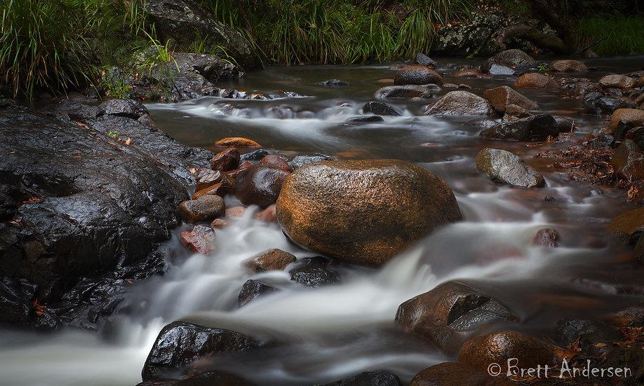 Kobble Creek, Samford Valley, Queensland, Australia.