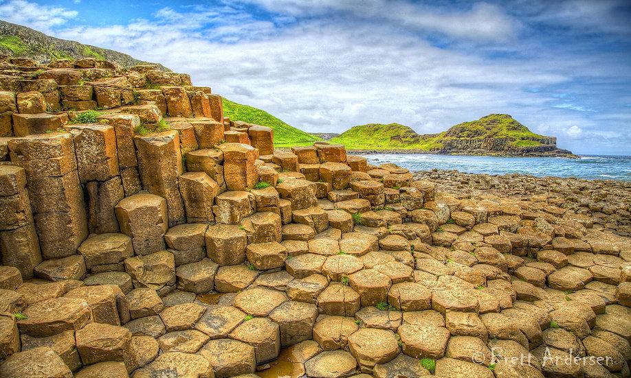 The Giant's Causeway, County Antrim, Northern Ireland,