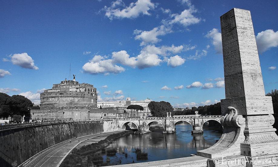 Castel Sant'Angelo, Parco Adriano, Rome.