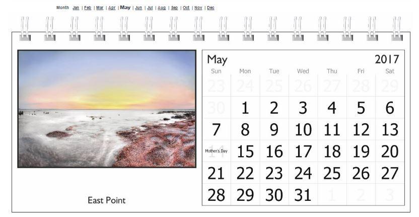Desk - May