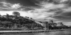 Rumeli Castle from Bosphorus River - PANO - Web