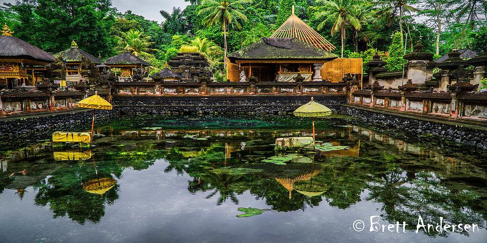 Tirta Empul temple (Spring-water Temple), Bali