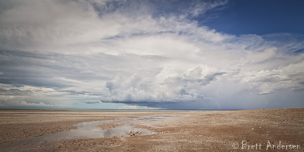 Dramatic Clouds at Lee Point, Darwin, NT.