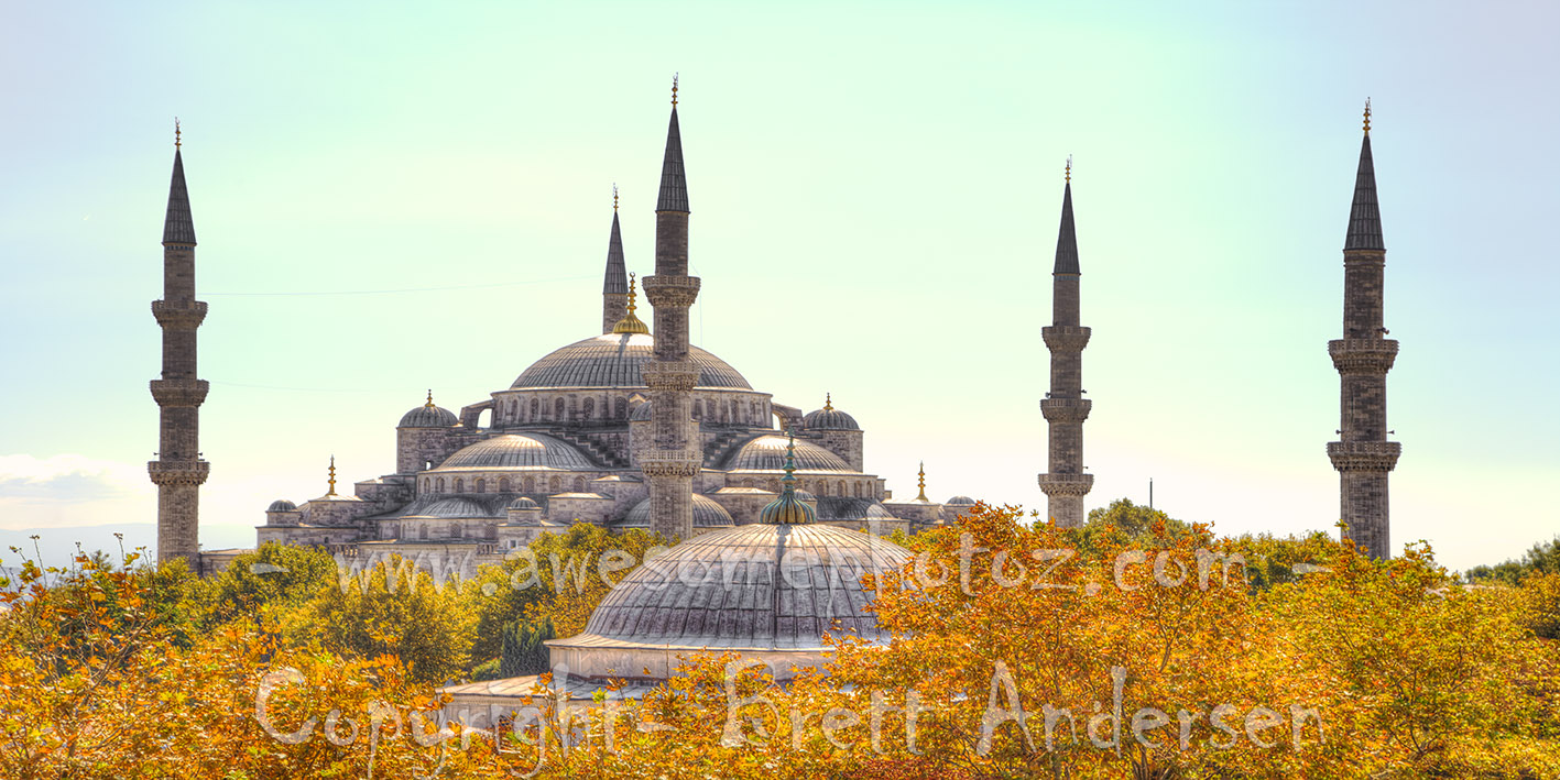 Istanbul - Blue Mosque - 2 - Web