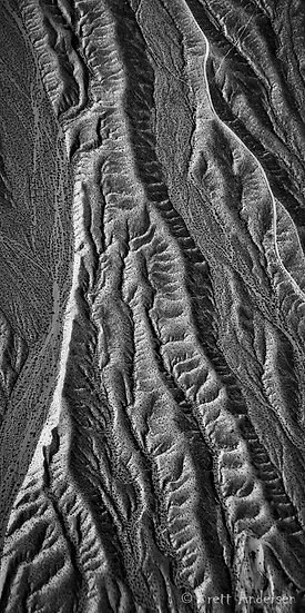 Aerial near the Grand Canyon, Arizona, United States.