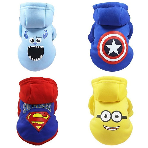 Small Dog Clothes Pug Dogs Pets Clothing