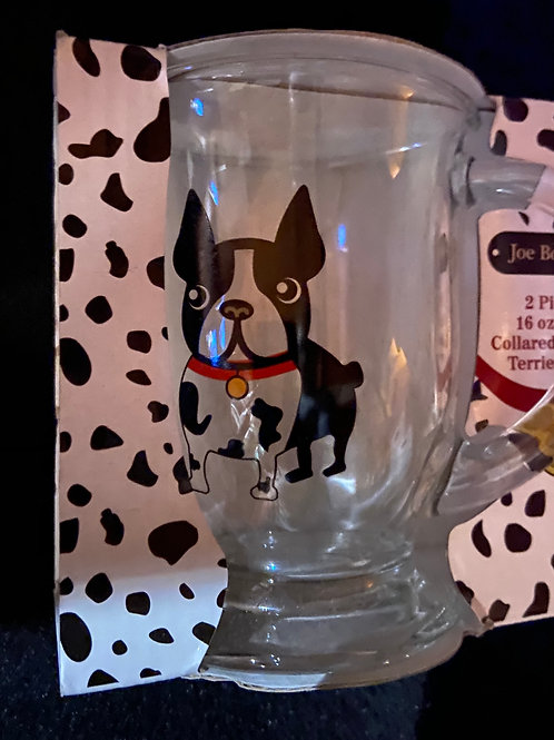 Joe Boston - Boston Terrier Glass Mugs