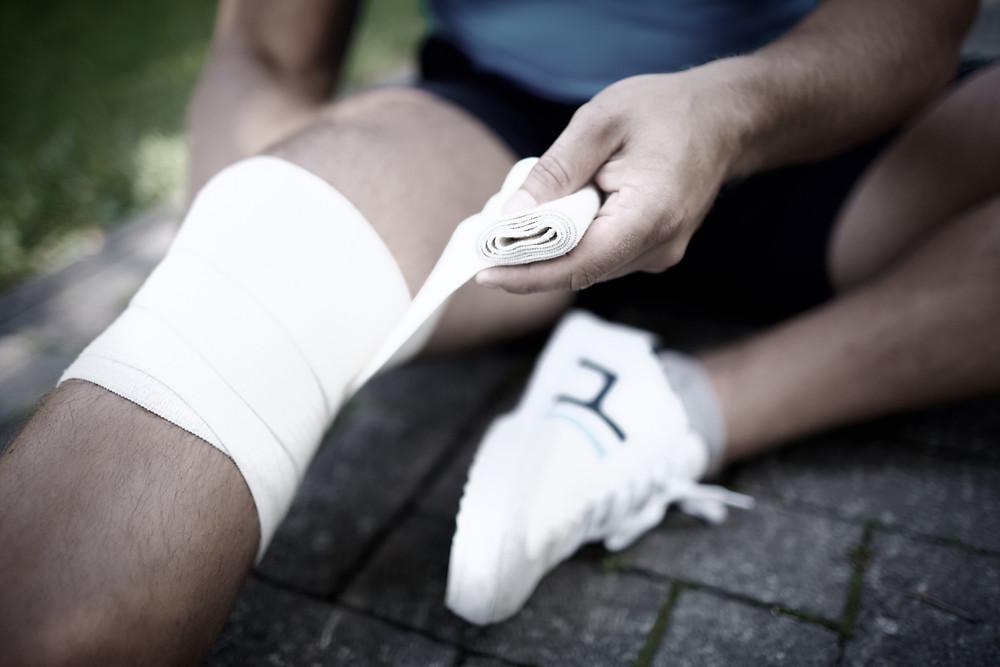 Entorse du genou et ostéopathie