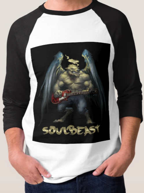 SoulBeast 3/4 Sleeve Baseball Shirt