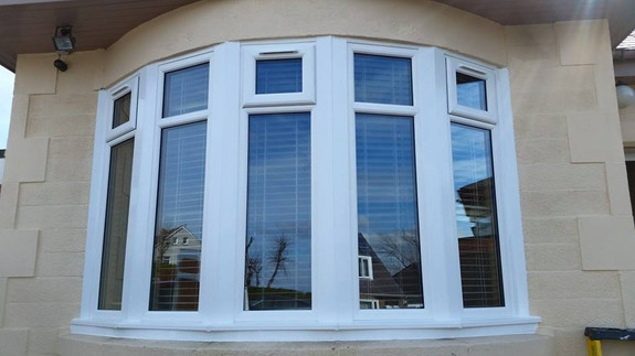 upvc bay window edinburgh