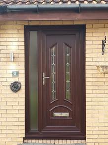 PVC New Front Door