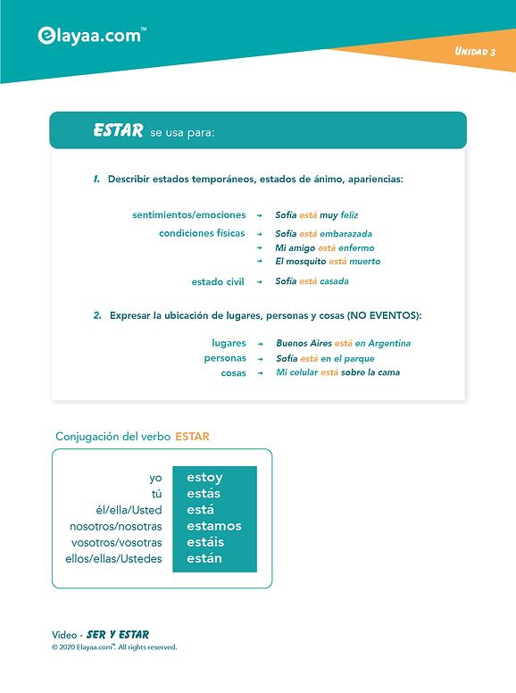 Elayaa.com - Ser-Estar Spagnolo Parte 2