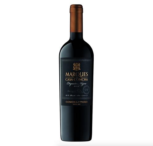 Vinto Tinto Marques de Casa Concha Etiqueta Negra - 750ml