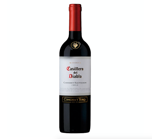 Vinho Tinto Cabernet Sauvignon Casillero Del Diablo - 750ml