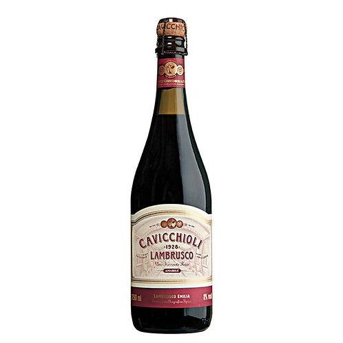 Lambrusco Frisante Cavicchioli Tinto - 750ml
