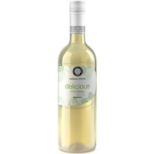 Vinho P&F Delicious Branco Crispy & Juicy - 750ml