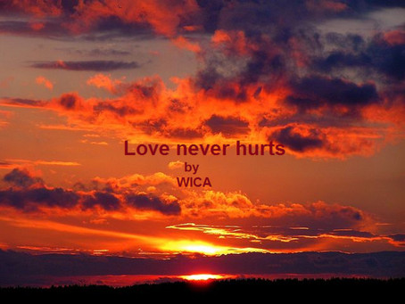 """My song """"Love never hurts"""" with a new tune"""