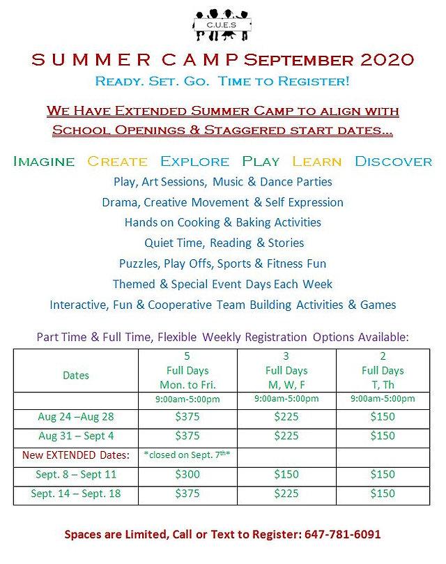 cues Summer Camp Sept 2020 flyer.JPG