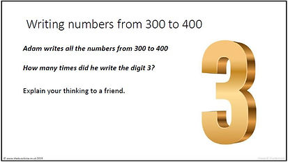 Writing numbers from 300 to 400.JPG