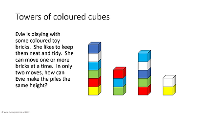 towers of coloured cubes.png