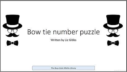 Bow tie number puzzle.JPG