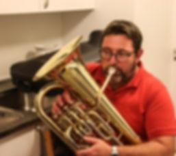 Bjarne der spiller Tuba