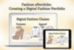 Digital Fashion Portfolio creation with Adobe InDesign