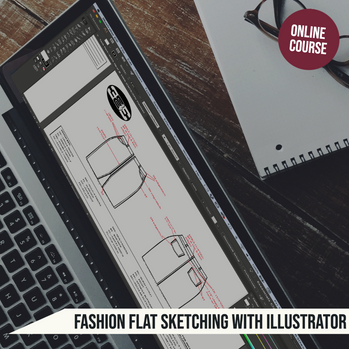 Fashion Flat Sketching Course