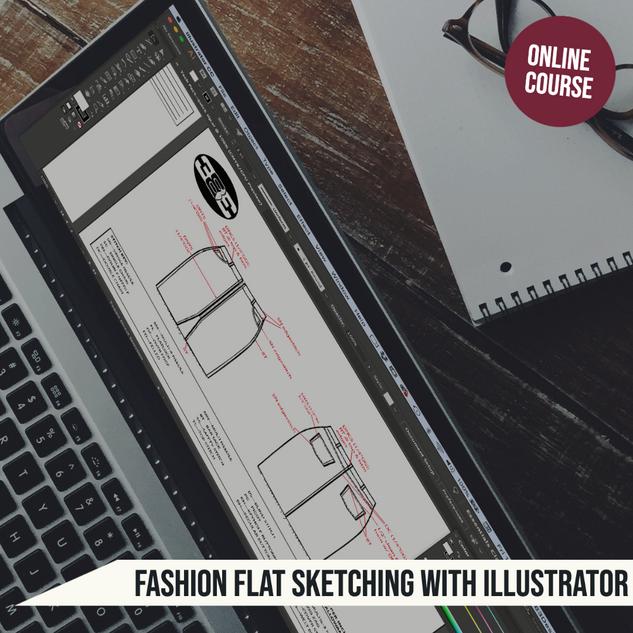 Fashion Flat Sketching Course
