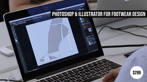 Photoshop Illustrator for Footwear Design Course