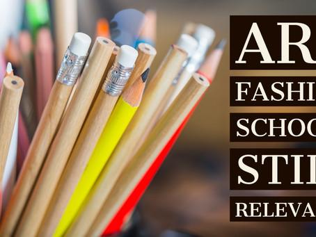 Are Fashion Schools Still Relevant?