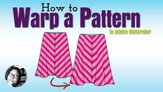 How to Warp a Pattern in Adobe Illustrator