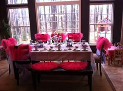 Princess Theme Tea Party