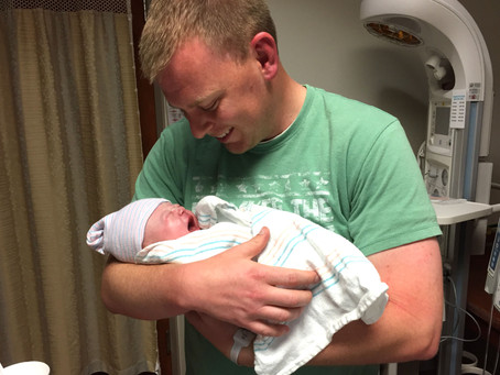 I was terrified to be a dad. Then I heard my baby girl cry for the first time.