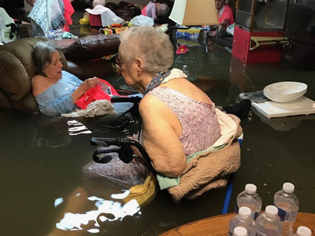 This viral Hurricane Harvey photo sparked plenty of outrage, but there's more to the story