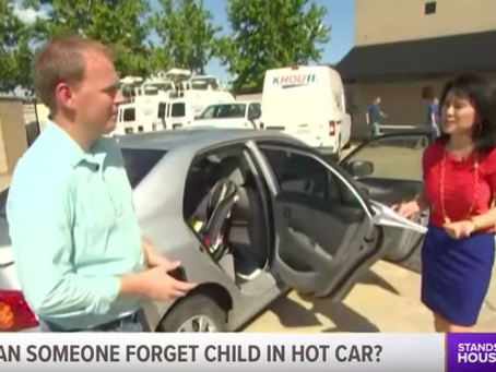 TV: Tips on how to remember a child in the backseat of a car