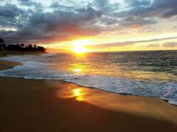 Hawaii_sunset beach_1
